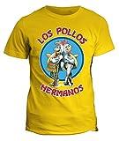 fashwork Tshirt Los Pollos Hermanos Breaking Bad - Serie TV - in Cotone by