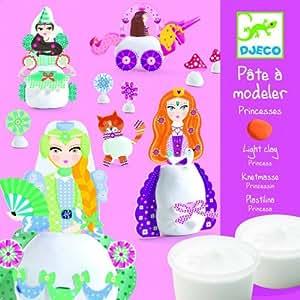 Djeco - Pâte à modeler Princesses