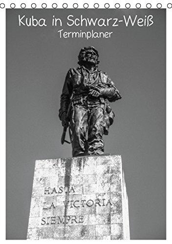 Kuba in Schwarz-Weiß/CH-Version (Tischkalender 2015 DIN A5 hoch): Impressionen aus Kuba in Schwarz-Weiß (Planer, 14 Seiten)