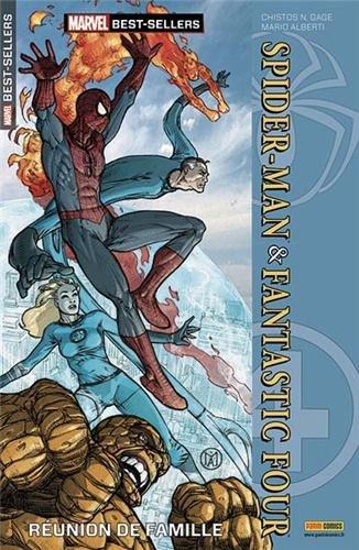 Marvel best-sellers 007 spider-man & fantastic four