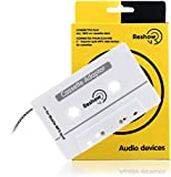 Reshow Travel Cassette Adapter for Cars - Listen to iPods, Smartphones, MP3 Players or a Walkman in a Standard Vehicle Cassette Player - Vintage/Retro Music Converter