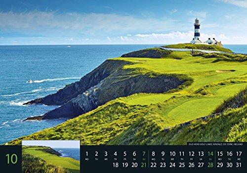 Golf 2018 - Sportkalender / Golfkalender international (49 x 34) - 12