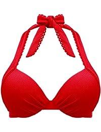 Darjeeling - Soutien-Gorge Coque Cap Ferret - Femme - Rouge