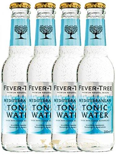 fever tree mediterranean tonic Fever Tree Mediterranean Tonic Water 4 x 0,2 Liter