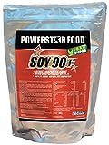 Soja Protein-Isolat, SOY 90+, hervorragender Geschmack, instantisiert, gentechnisch unverändert und frei von pflanzlichen Östrogene. Bestes Preis-Leistungs-Verhältnis. (Schoko-Sahne)