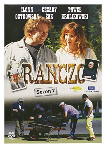 Ranczo Sezon 7 (BOX) [4DVD] [Region Free] (IMPORT) (No English version) by Ilona Ostrowska
