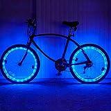 Pecosso Fahrrad Rad Licht-Wasserdichte LED Fahrrad 2 Modi Rad Lichter
