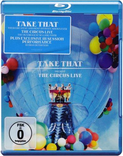 Take That - The Circus Live  Blu-ray   2009   Region Free