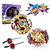 InnooCare Bey Battling Top blade - Battle Gyro Spinning Tops Kids Toys 3 years + Novelty Boys Girls Children   2 Sets with Launcher