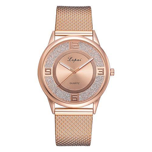TianWlio Armbanduhren Damen Lvpai Frauen Beiläufig Quarz Silikonband Band Uhr Analog Armbanduhr