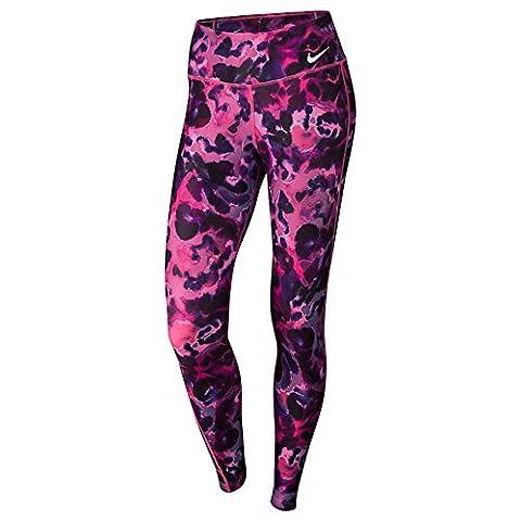 Nike Damen Power Training Tight Leggings (S, Pink)