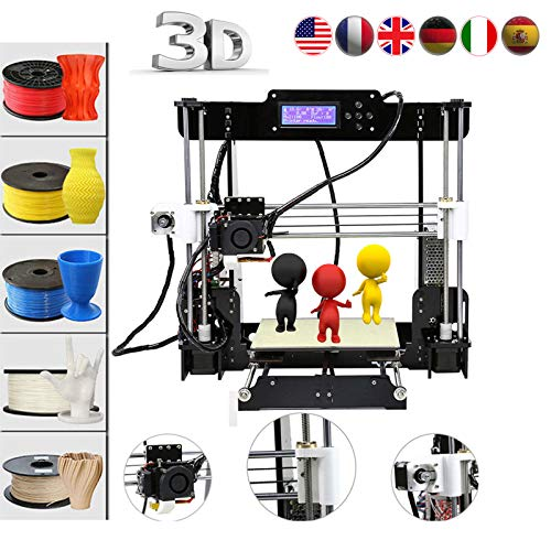 Impresora 3D Abcs Printing A8 Acrilico Prusa I3 Pro B Kit, DIY Impreso