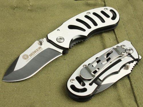Boker 768 Couteau pliant pour camping, chasse et pêche