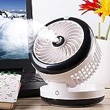 L@LILI Mini Refroidisseur d'air Portable, humidificateur de Bureau air Cooler dortoir Mini USB Ventilateur Petit Bureau Ventilateur sans Lame Silencieux électronique Portable,B