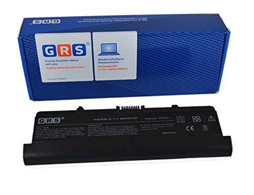 GRS Batterie d'Ordinateur Portable avec 6600 mAh fç ¬ R Dell Inspiron 1525, RN873, GW240, GP952, remplace : GW240, RN873, GP952, K450 N, G555 N, RU586, J399 N, 312-0625, 312-0633, batterie ordinateur portable 6600 mAh, 11,1 V