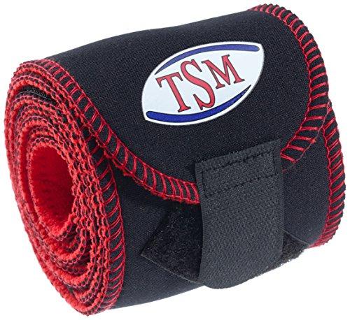 TSM Sportbandage Wickelbandage lang, Schwarz, One Size, 5502