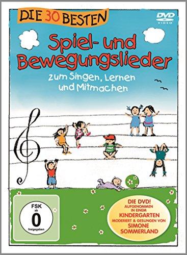 Die 30 besten Spiel- und Bewegungslieder - Die DVD - zum Singen, Lernen und Mitmachen