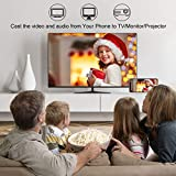 YEHUA Wireless WiFi Display Dongle HDMI 1080P WiFi Display Receiver Soporte Miracast Airplay DLNA para Chromecast / Android / Smartphone / PC / TV / Monitor / Proyector