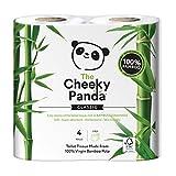 The Cheeky Panda Toilettenpapier, 100Prozent Bambus, weich, hautfreundlich, Super Saugfähig, keine scharfen Chemikalien