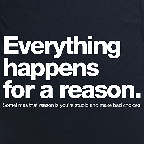 Everything Happens T-shirt, Uomo Nero