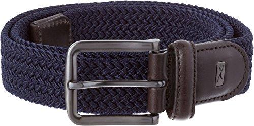 Brax Herren Gürtel Herrengürtel 59-0217, Blau (Navy 22), 105 (Leder Polyester Liege)