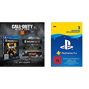Call of Duty: Black Ops 4 PSN Bundle (inkl. Black Ops 4 Standard Plus Edition, PlayStation Plus: 3 Monate Mitgliedschaft)