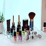 FLHSLY Cosméticos, lápiz labial caja de almacenaje Esmalte de uñas Productos para el cuidado de la piel Escritorio Estante de acabado Estuche de almacenamiento cosmético artefacto