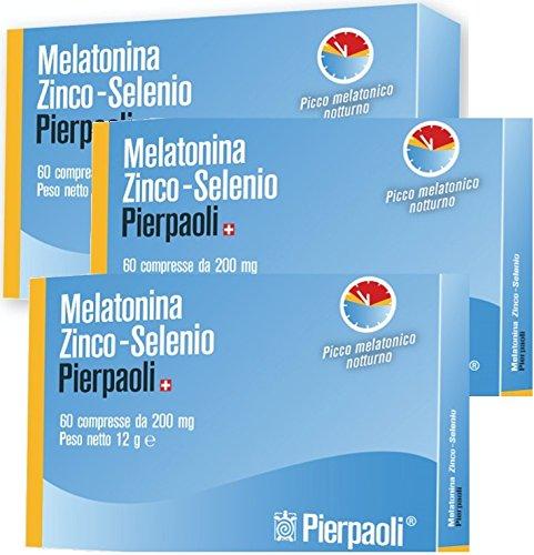 dr-pierpaoli-3-confezioni-melatonina-zinco-selenio-pierpaoli-1mg-60-cpr