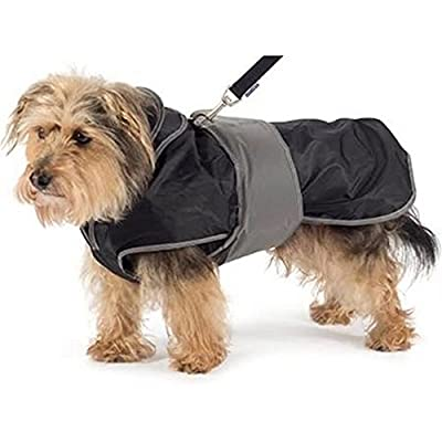 Ancol Muddy Paws 2 in 1 Harness Puppy Dog Coat All Weather Warm Machine Washable Jacket by Ancol