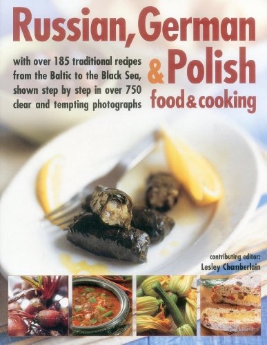 Russian, German & Polish Food & Cooking Cover Image