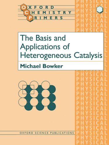 The Basis and Applications of Heterogeneous Catalysis (Oxford Chemistry Primers) por Michael Bowker