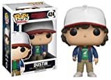 Funko 13323 - Stranger Things, Pop Vinyl Figure 424 Dustin with Compass, 9 cm