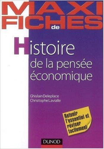 Histoire de la pensée économique de Ghislain Deleplace,Christophe Lavialle ( 13 août 2008 )