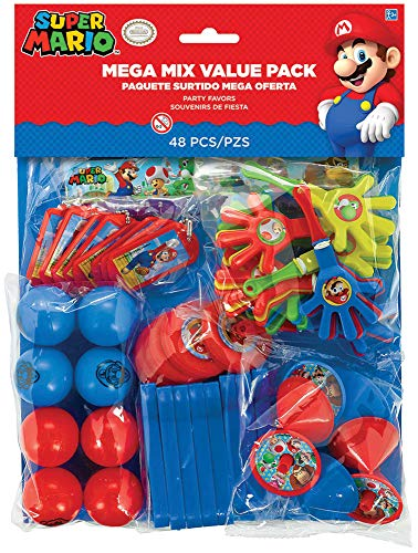 Super Mario Bros Party Mega Mix Value Favour pack - Fill your party bags with ease! by Super Mario ()