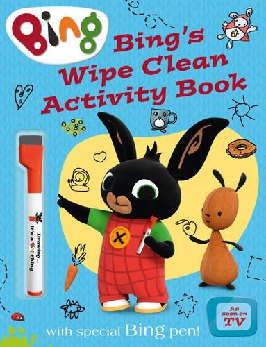 Bing's Wipe Clean Activity Book (Bing) por Null