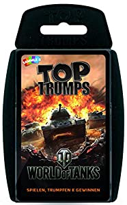 Winning Moves 63346 Top Trumps World of Tanks - Juego de Cartas (Contenido en alemán)