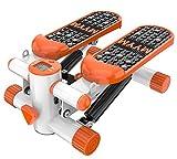 Lcyy-step Aerobic Fitness Adjustable Twister Stepper mit Magnet-Therapiepedäder Gesunde Fitness Mini Stepper Maschine für Mann und Frau