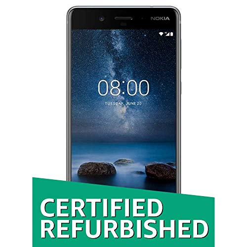 (Certified REFURBISHED) Nokia 8 (Steel, 64GB)