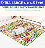 Ozoy Waterproof Double Side Baby Play Crawl Floor Mat for Kids Picnic School