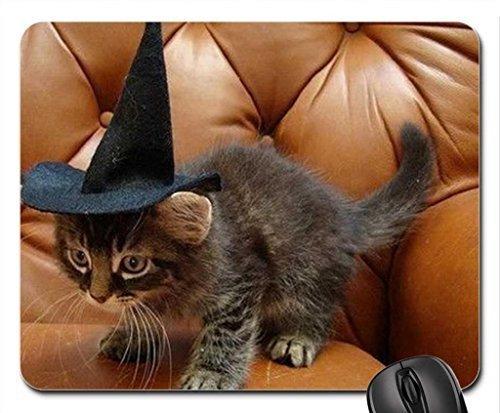Halloween-Kitty Mauspad, Mousepad (Katzen Mauspad) (Kitty Für Halloween)