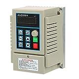 1pc AC 220V 0.45KW Variable Controlador Inversor de Velocidad VFD de Unidad de Frecuencia Frase...