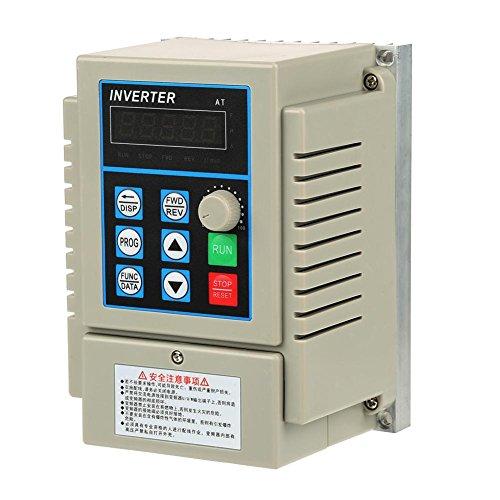 1pc AC 220V 0.45KW Variable Controlador Inversor de Velocidad VFD de U
