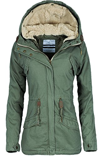 Urban Surface Damen Parka dusty olive L