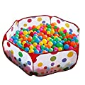 Mudder Kids Play Tent Playpen Ball Pit Pool with Red Zippered Storage Bag