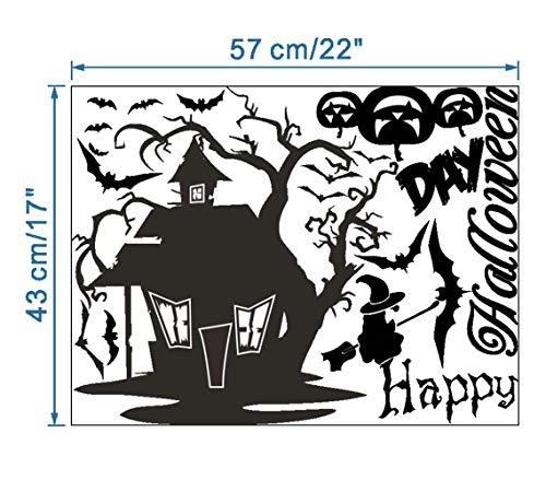 QTXINGMU Casa Desprendible De La Calabaza De Halloween Con Estilo Y Con Estilo Conveniente para La Del Pared Schlafsofa De La Sala De Estar (Para Halloween Calabazas)