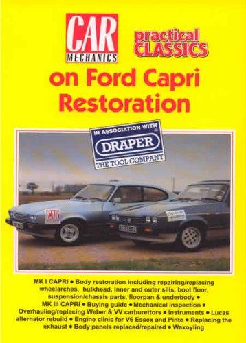 Ford Capri Restoration (Car Mechanics S.) Wright Strawberry