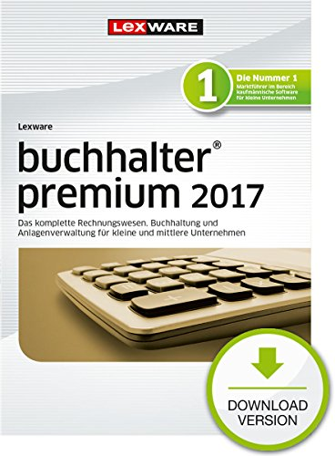 Lexware buchhalter 2017 premium-Version PC Download (Jahreslizenz) / Einfache Buchhaltungs-Software für Freiberufler, Handwerker & mittlere Unternehmen / Kompatibel mit Windows 7 oder aktueller