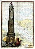 Kunstdruck/Poster: Ole West Borkum Türme - hochwertiger
