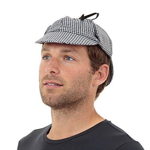 Bristol Novelty bh397Sherlock Detektiv Hat, One Size