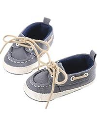 LanLan Zapatos de niños, Calzados/Zapatillas/Sandalias de niños Newborn Baby Denim Shoes Unisex Soft Sole Toddler Shoes